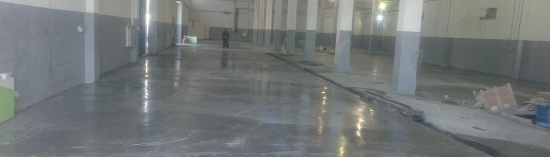 Hormigón pulido Madrid empresa Enemar